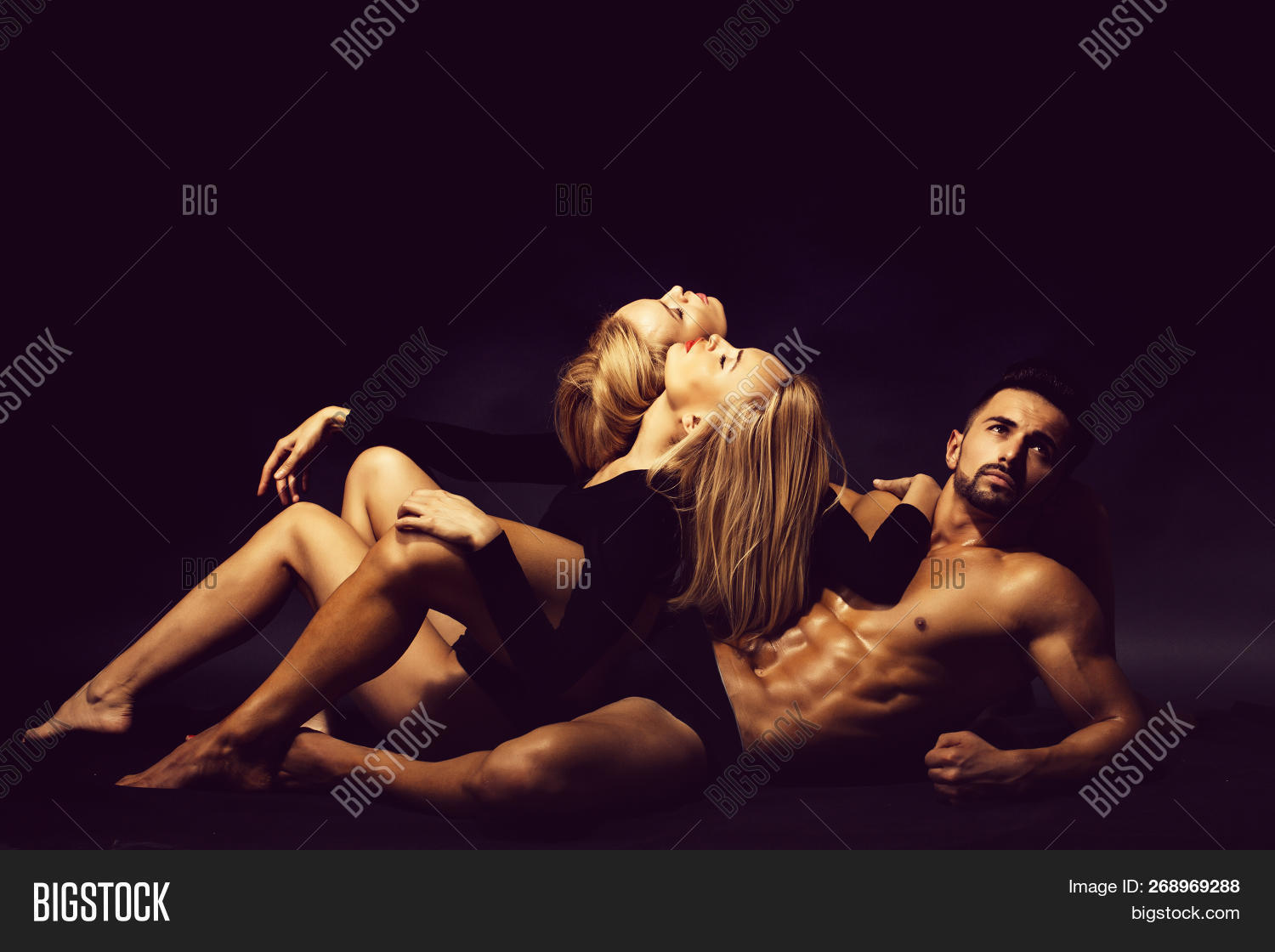Real twin gay men with hot black girl photo 4