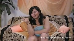 Spanking the asian sex ts