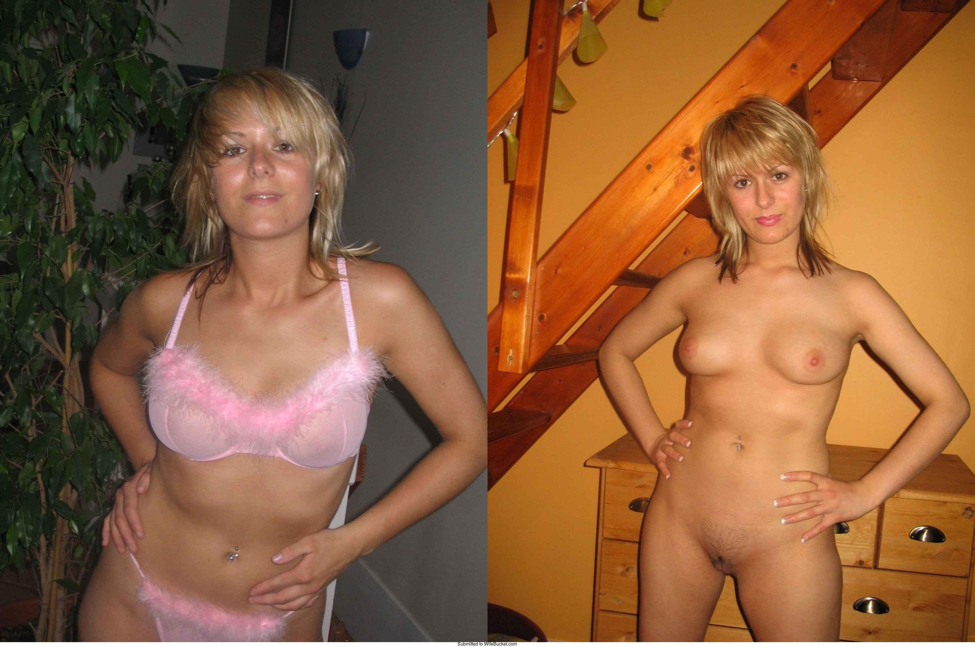Wife free dressed undressed naked