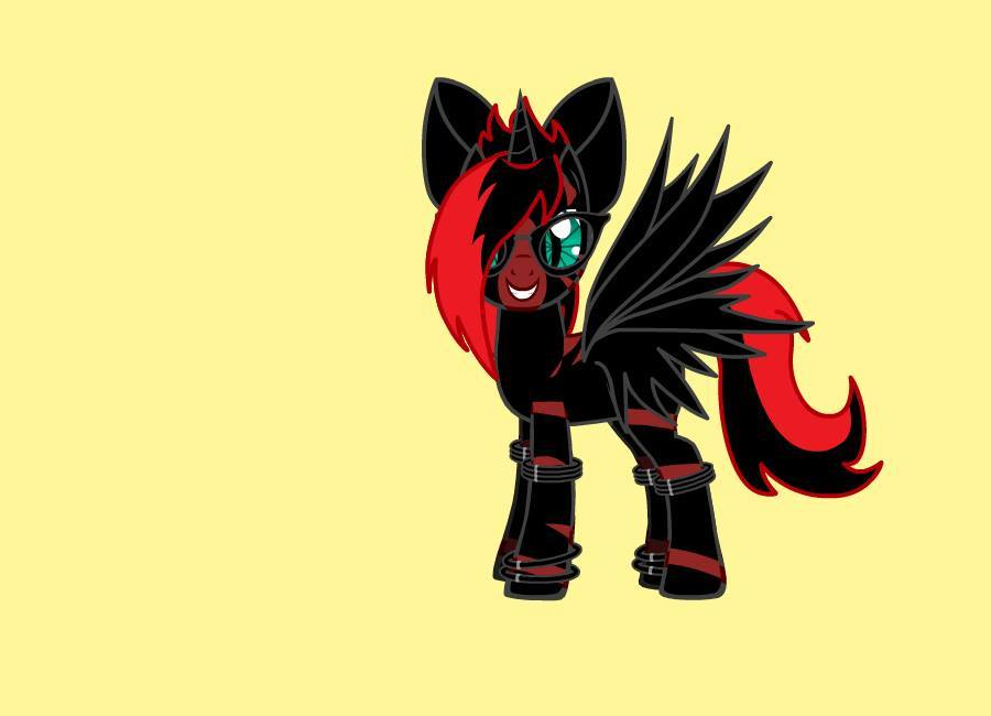 I wanna mlp evil emo photo 2