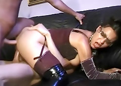 Brunette lil sexy brunette aletta bdsm fetish lesbian photo 1