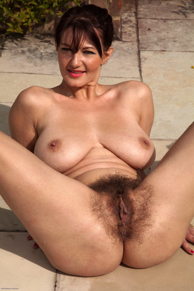 Showing hot mature hairy breat fuck naked